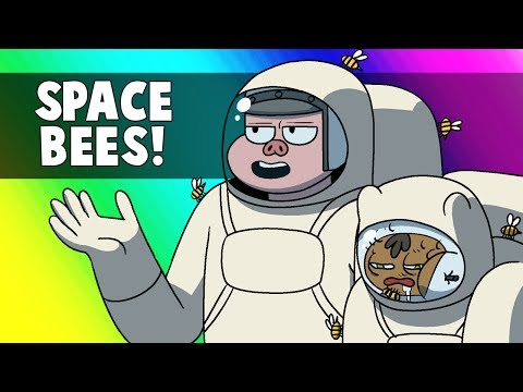 Vanoss Gaming Animated - Space Bees! (From Black Ops 2 Funny Moments)