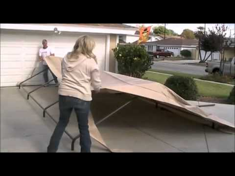 Car Canopy Manual Video Youtube