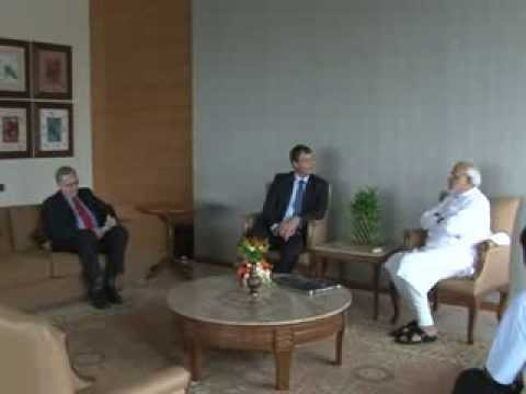 High Commissioner of Australia to India pays courtesy visit to Narendra Modi