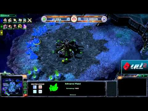 IPL S2 - Winners Round 2 - IdrA vs Minigun - Game 2 of 3