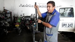 Suspensión de la moto