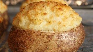 Twice Baked Potatoes- How To Make Fancy Stuffed Potatoes