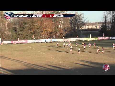 2013 USA Rugby College 7s National Championship: James Madison vs. Penn State