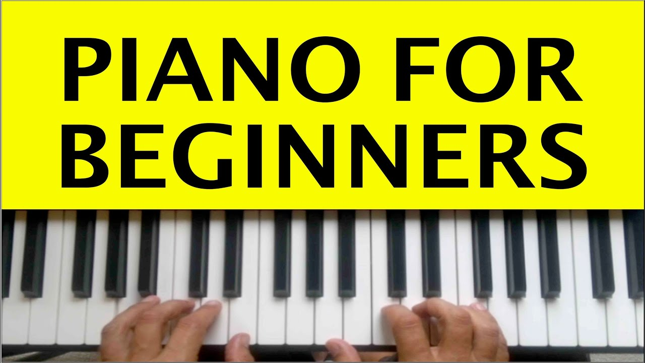 Adult beginner lesson online piano