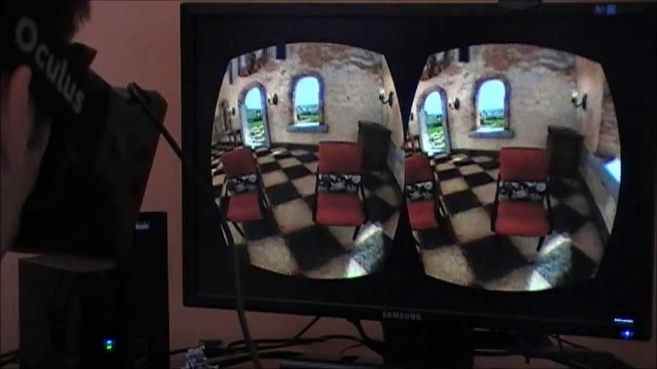 """Holographic"" video - Kinect4Windows v2 + Oculus Rift"
