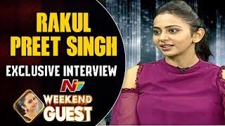 Rakul Preet Singh Exclusive Interview | Weekend Guest