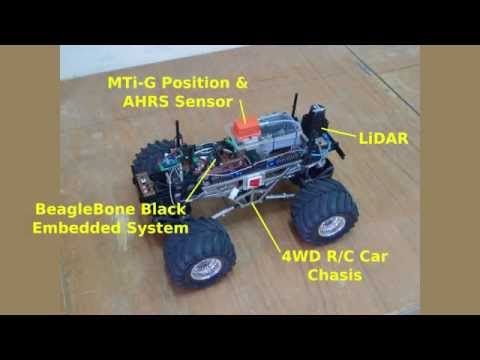 Yun-Trooper II - UGV based on GPS, AHRS and LiDAR