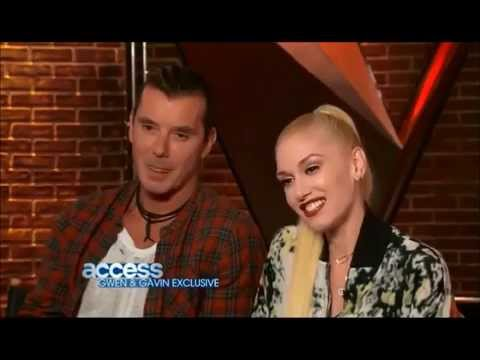 Gwen Stefani and Gavin Rossdale on Working Together on The Voice