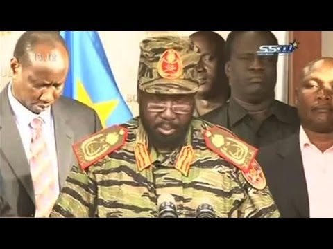South Sudan hit by fighting, president says coup defeated