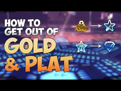HOW TO GET OUT OF GOLD & PLAT IN ROCKET LEAGUE | 7 Tips from a Champion