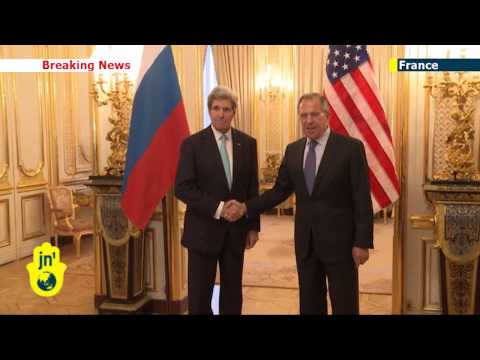 Ukraine crisis talks: US Secretary of State meets Russian FM in Paris