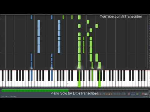 The Wanted - Glad You Came (Piano Cover) by LittleTranscriber