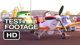 Planes Official Test Footage (2013) - Dane Cook Disney Animated Movie HD