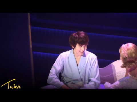 [HD fancam] 120529 Catch Me If You Can - Frank Kyuhyun &amp; Brenda Bed Scene Cut