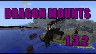 ★How To Install The DRAGON MOUNTS MOD For Minecraft 1.5
