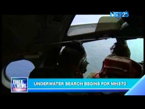 Underwater search begins for MH370
