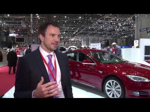 Geneva Auto Show 2014 - Interview with Jochen Rudat, Tesla | AutoMotoTV