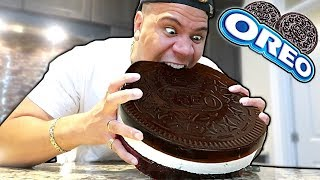 GIANT GUMMY OREO!! Learn How to Make DIY Edible GIANT FOOD! (WORLD RECORD CANDY)