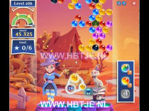 Bubble Witch Saga 2 level 108