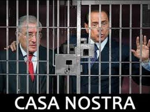 Preso Marcello Dell'Utri in Fuga dall'Arresto. Ecco gli Amici di Berlusconi!