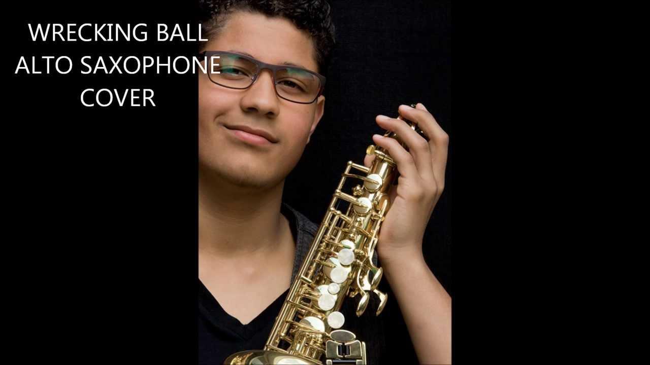 Alto Sax Wrecking Ball Lyrics