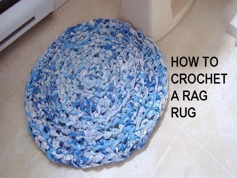 Rectangle Rag Rug Crochet Pattern Free Crochet Patterns