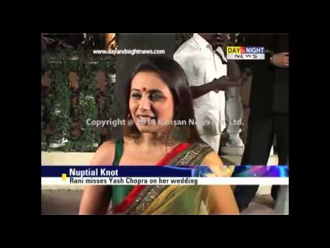 Aditya Chopra, Rani Mukerji get married secretly in Italy