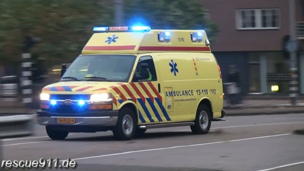 Ambulance GGD Amsterdam Collection YouTube