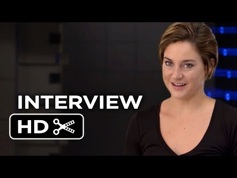 Insurgent Interview - Shailene Woodley (2015) - Kate Winslet, Miles Teller Movie HD