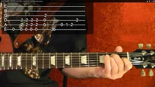 AC/DC HELL'S BELLS ( 1 Of 2 ) Guitar Lesson By