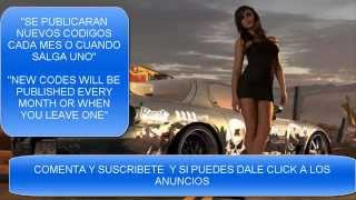 Need For Speed World Codes August 2014 (Updated)