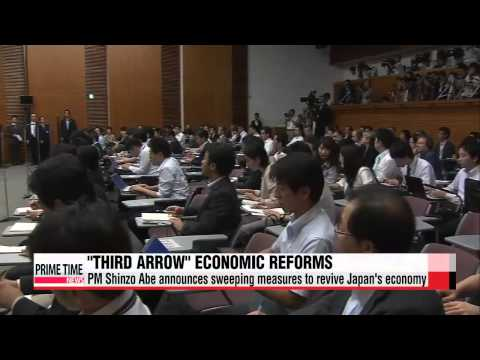 PM Shinzo Abe unveils economic reforms to revive Japanese economy