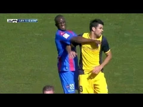 Sissoko vs Diego Costa (Laurel & Hardy Edition) (Levante 2-0 Atletico Madrid)