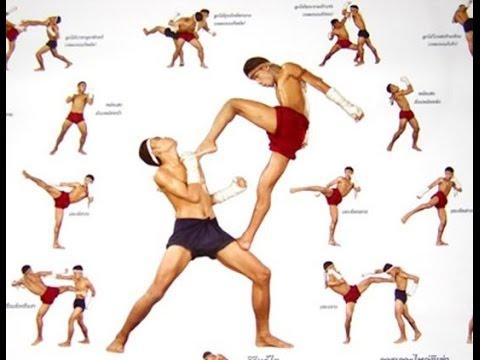 Biểu diễn võ Muay Thái