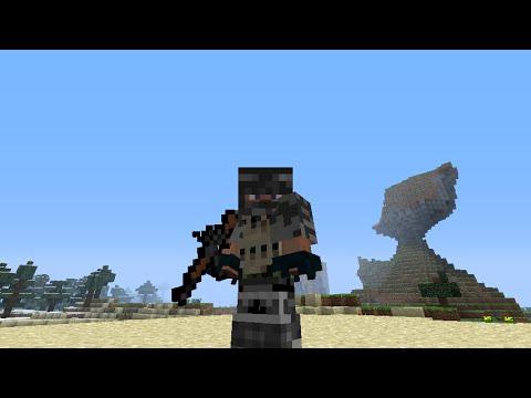 Minecraft | Guns In Vanilla Minecraft | One Command Block