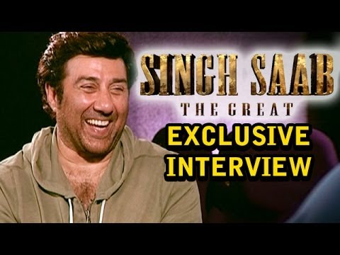 Singh Saab The Great - Sunny Deol talks about the movie, Kissing, Action Scenes, His Family & more