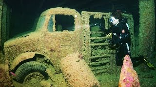 Top 15 Mysterious Things Found Underwater