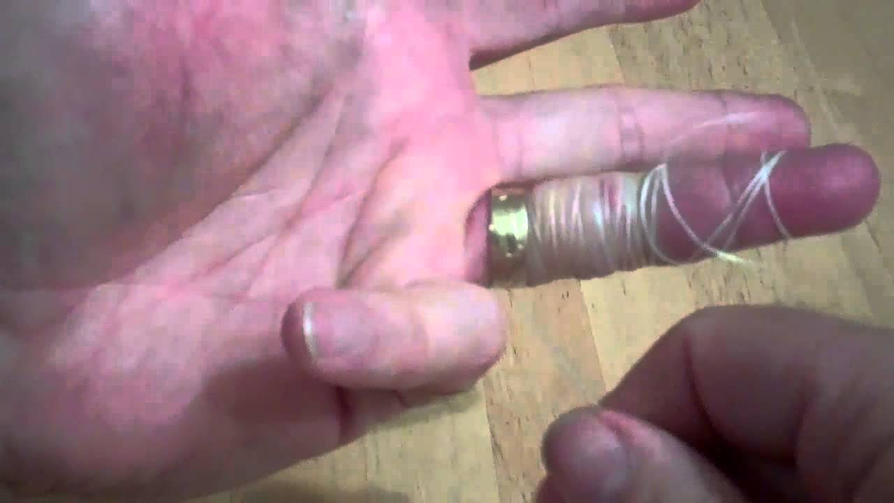 removing an irremovable ring with magical dental floss