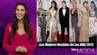 Mejores Vestidos En Los Premios AMA 2011: Jennifer Lopez