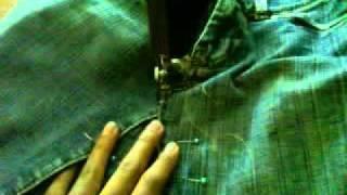 Como Se Hace Una Falda Con Un Pantalon