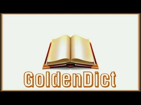 E-Mail подмена. GoldenDict версия 9 с набором словарей от Lingvo 12 + Gold