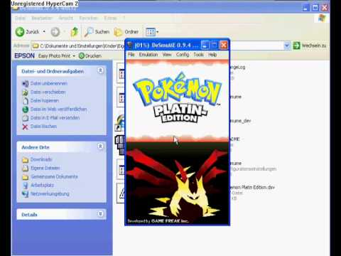 Pokemon Platin Rom für den PC [Deutsch] + DeSmuME Emulator download link