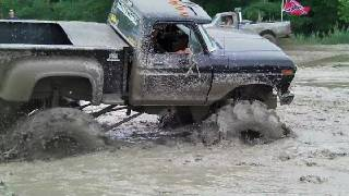 4x4 BIG TRUCK OFF-ROAD MUDDING