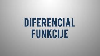 Kaj je diferencial funkcije?