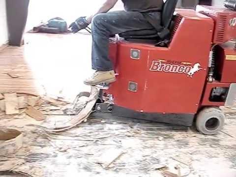vinyl flooring removal machine