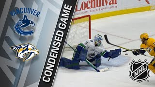 11/30/17 Condensed Game: Canucks @ Predators