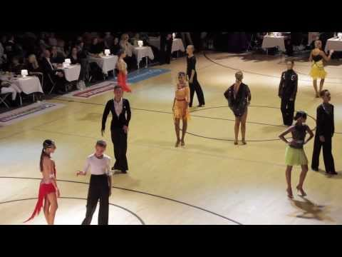 Helsinki Open 2013 | WDSF Open Junior 2 | Latin / Final