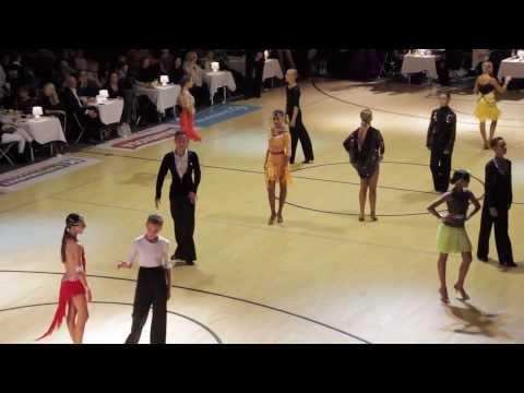 Helsinki Open 2013 | WDSF Open Junior 2 | Latin / Final