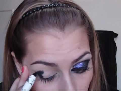 Maquiagem Preta com Glitter! Ganhadora do concurso Yes somos Divas! Por Barbara Thais