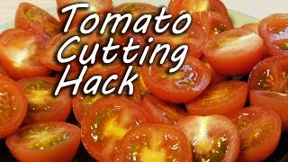 Cara motong tomat ala ninja